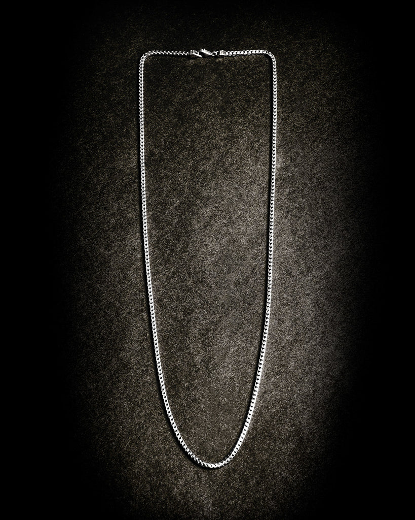 FRANCO CHAIN NECKLACE WITH FLASK STOPPER