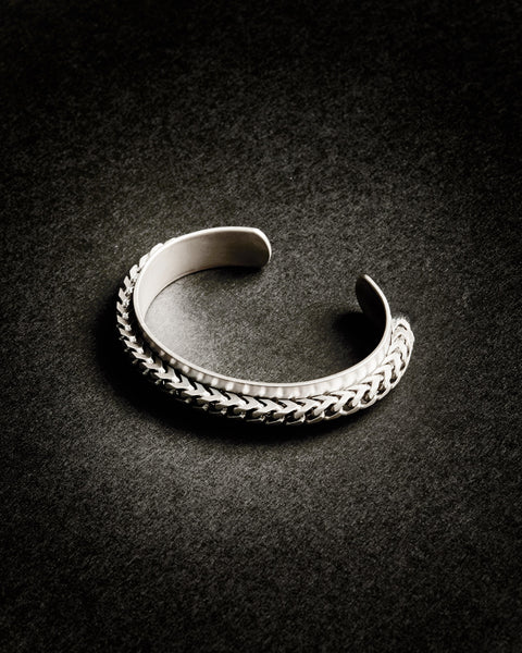 FRANCO CHAIN-WRAPPED BOLD CUFF