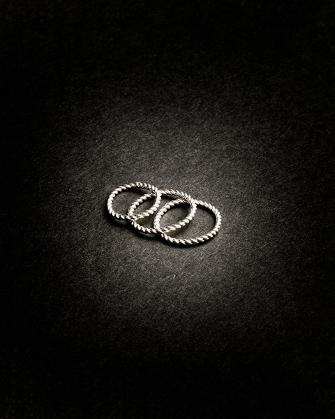 TWIST RING SET