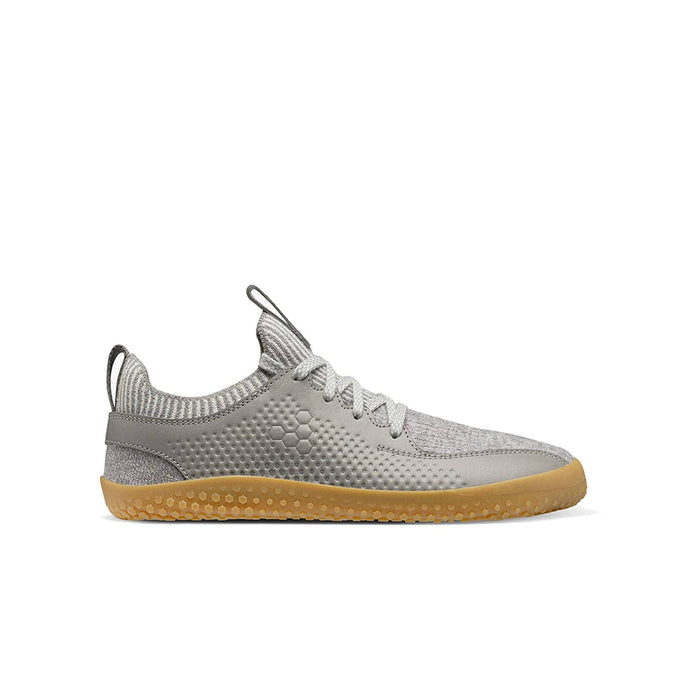 Vivobarefoot Primus Knit Wool Junior Zinc Grey - Sole Mechanics Natural Motion Footwear - Australia & New Zealand