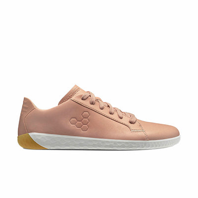 Vivobarefoot Geo Court II Womens Misty Rose Side