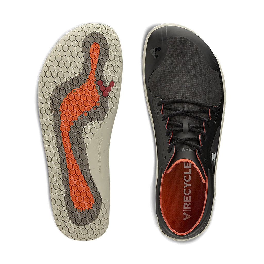 Vivobarefoot Primus Lite II All Weather Mens Obsidian - Sole Mechanics Natural Motion Footwear - Australia & New Zealand
