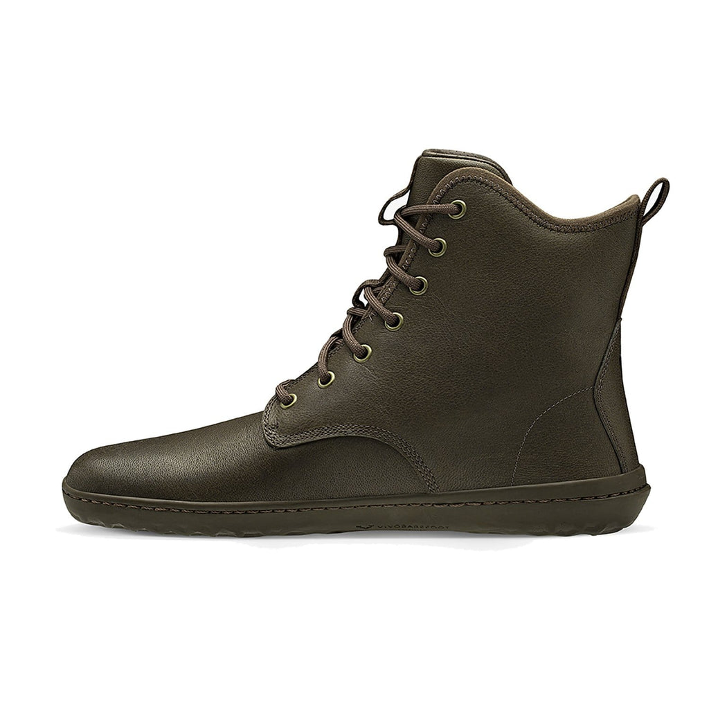 Vivobarefoot Scott II Leather Mens Chestnut - Sole Mechanics Natural Motion Footwear - Australia & New Zealand