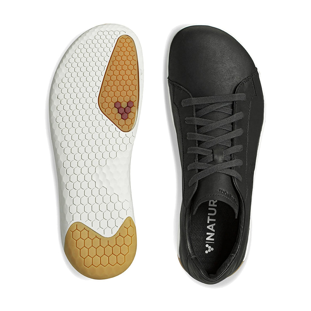 Vivobarefoot Geo Court II Womens Obsidian - Sole Mechanics Natural Motion Footwear - Australia & New Zealand
