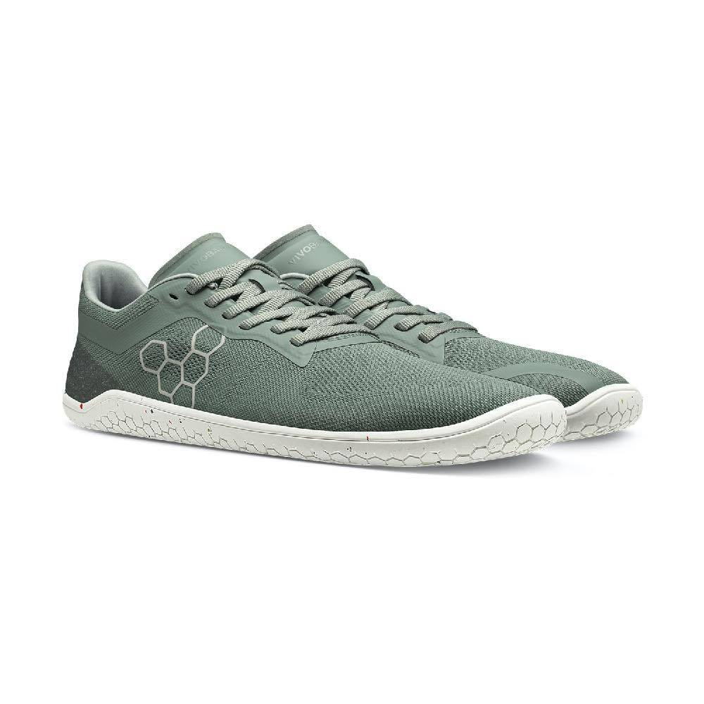 Vivobarefoot Geo Racer II Mens Sea Green Pair