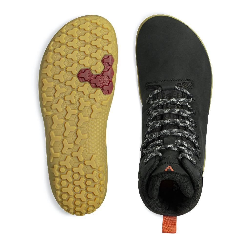 Vivobarefoot Tracker II FG Obsidian Mens Sole and Top