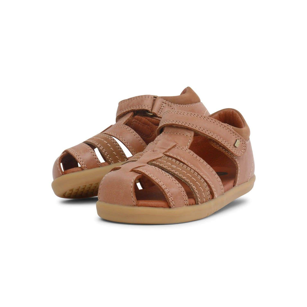 Bobux I-Walk Roam Kids Caramel - Sole Mechanics Natural Motion Footwear - Australia & New Zealand