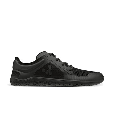 Vivobarefoot Primus Lite II Recycled Womens Obsidian Black - Sole Mechanics Natural Motion Footwear - Australia & New Zealand