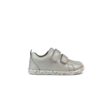 Bobux I Walk Grass Court Waterproof Kids White Opal Side
