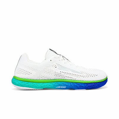 Altra Escalante Racer Womens White Green Side