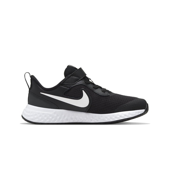 Nike Revolution 5 Kids Black/White-Anthracite - Sole Mechanics Natural Motion Footwear - Australia & New Zealand