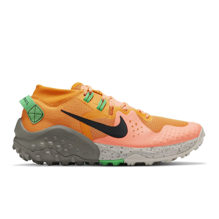 Nike Wildhorse 6 Mens Kumquat/Green Spark-Atomic Pink-Black - Sole Mechanics Natural Motion Footwear - Australia & New Zealand