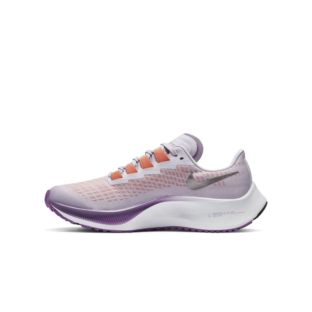 Nike Air Zoom Pegasus 37 Kids Violet Frost/Metallic Pewter-Camellia