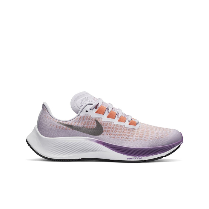 Nike Air Zoom Pegasus 37 Kids Violet Frost/Metallic Pewter-Camellia - Sole Mechanics Natural Motion Footwear - Australia & New Zealand