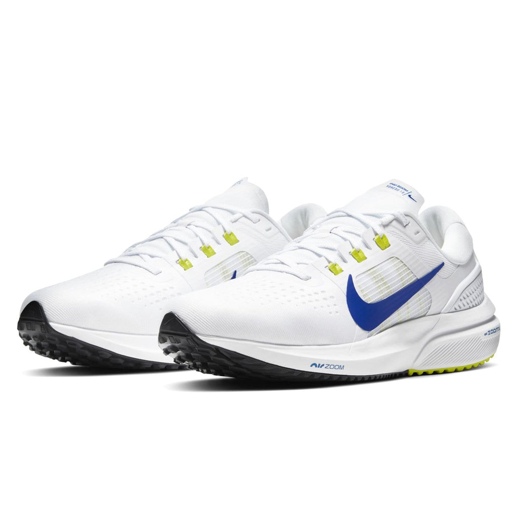 Nike Air Zoom Vomero 15 Mens White/Racer Blue -Cyber-Black - Sole Mechanics Natural Motion Footwear - Australia & New Zealand