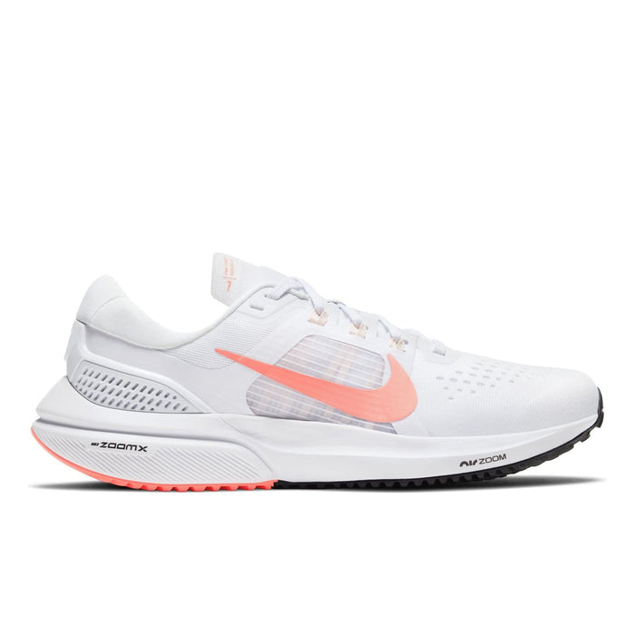 Nike Air Zoom Vomero 15 Womens White / Crimson Pulse-Crimson Tint - Black - Sole Mechanics Natural Motion Footwear - Australia & New Zealand