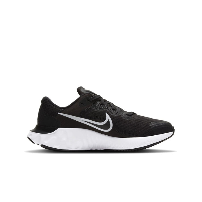Nike Renew Run 2 Kids Black/White-Dark Smoke Grey - Sole Mechanics Natural Motion Footwear - Australia & New Zealand