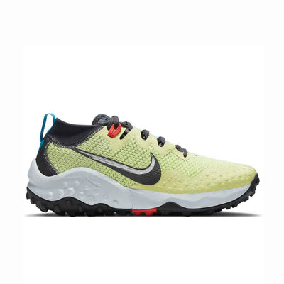 Nike Wildhorse 7 Womens Limelight/Off Noir-Laser Blue-Chile Red Right Side