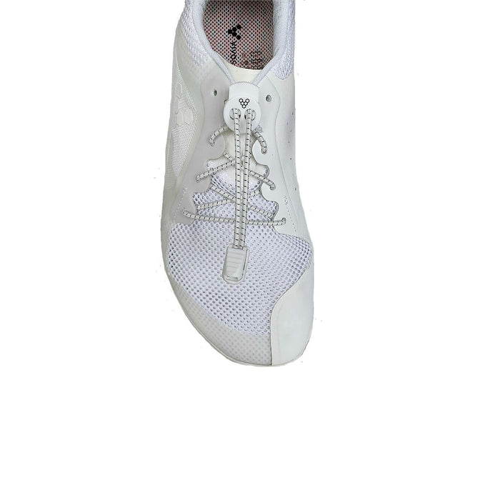 Vivobarefoot Toggle Laces Kids White - Sole Mechanics Natural Motion Footwear - Australia & New Zealand