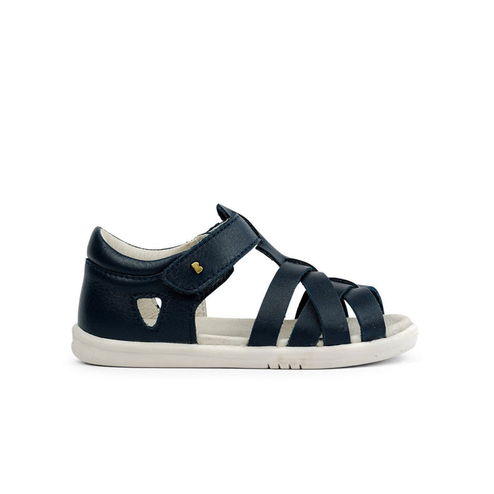 Bobux I-Walk Tropicana Kids Navy - Sole Mechanics Natural Motion Footwear - Australia & New Zealand