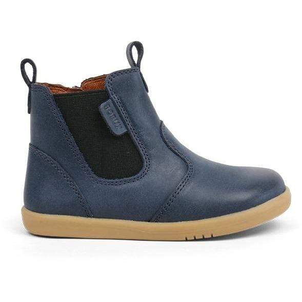 Bobux Kids Bobux i-Walk Jodphur Boot Kids Navy Bobux IW Jodphur Boot Navy | Sole Mechanics Barefoot Shoes