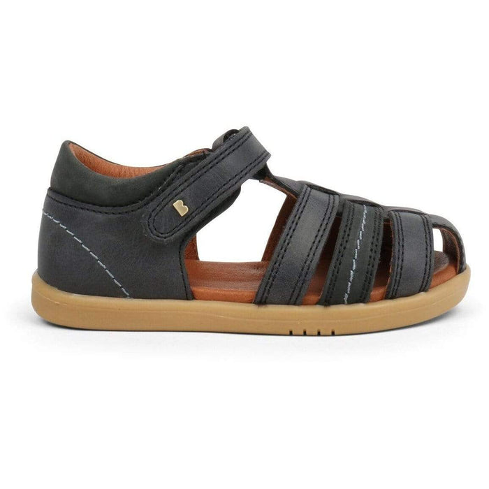 Bobux I-Walk Roam Sandal Kids Black Ash - Sole Mechanics Natural Motion Footwear - Australia & New Zealand