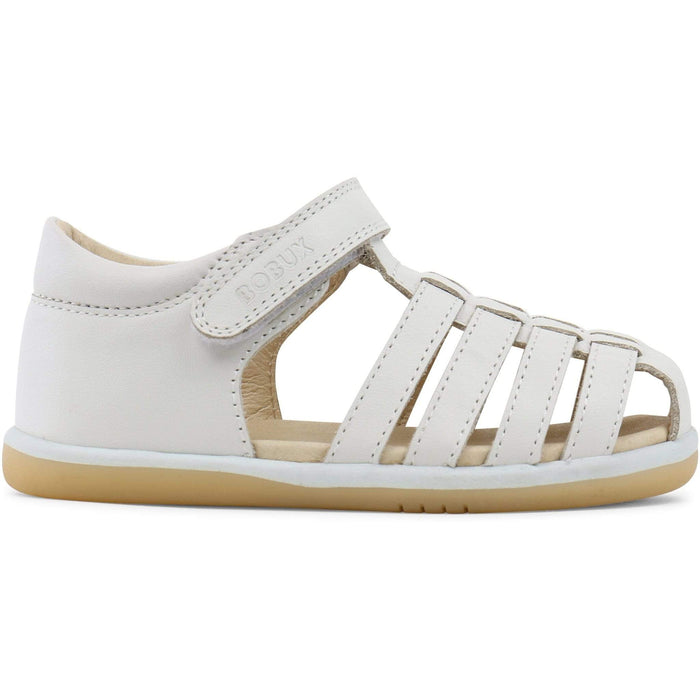 Bobux I-Walk Skip Sandal Kids White - Sole Mechanics Natural Motion Footwear - Australia & New Zealand