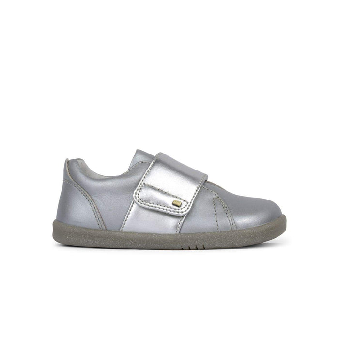 Bobux Kids Bobux IW Boston Trainer Kids Silver Bobux IW Boston Trainer Kids Silver | Sole Mechanics Online