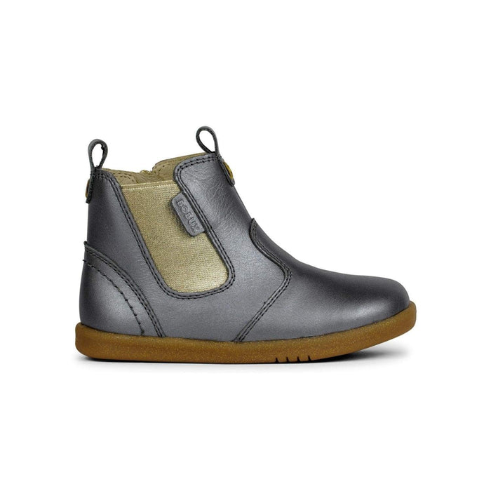 Bobux Kids Bobux IW Jodhpur Boot Kids Charcoal Shimmer Bobux IW Jodhpur Boot Kids Charcoal Shimmer | Sole Mechanics Online