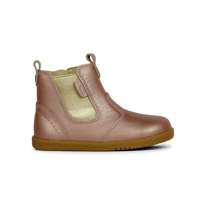 Bobux I-Walk Jodhpur Boot Kids Rose Gold Side