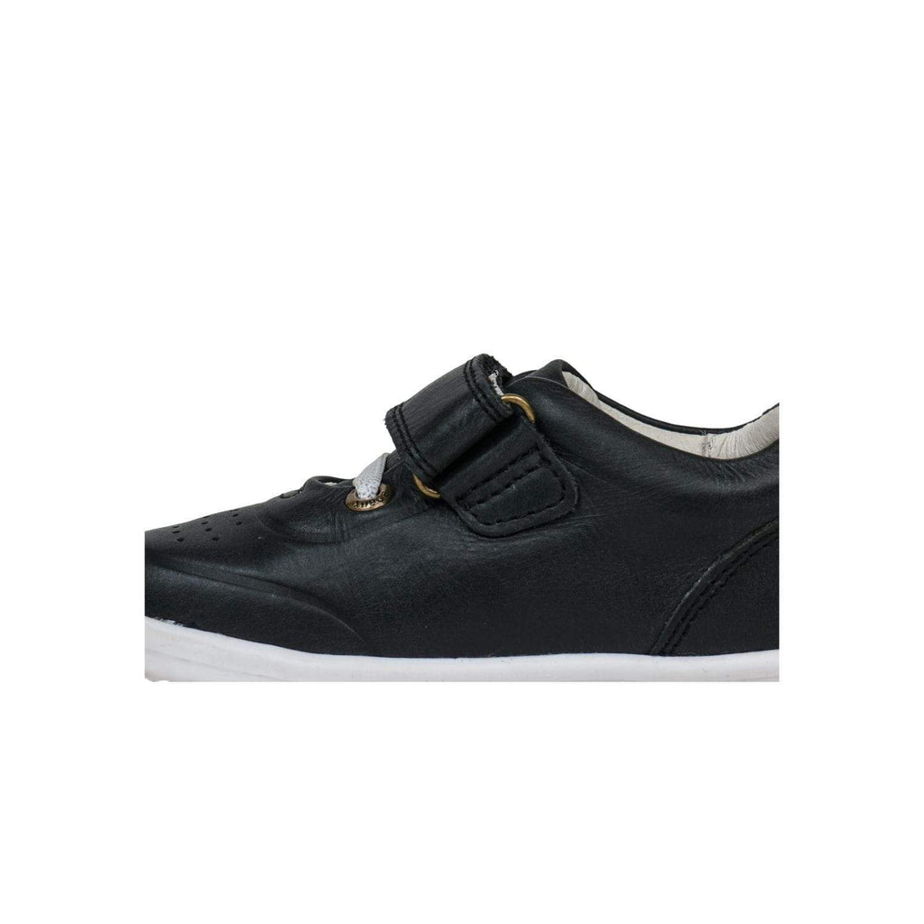 Bobux Kids Bobux IW Ryder Trainer Kids Black + Charcoal Bobux IW Ryder Trainer Kids Black + Charcoal | Sole Mechanics Online