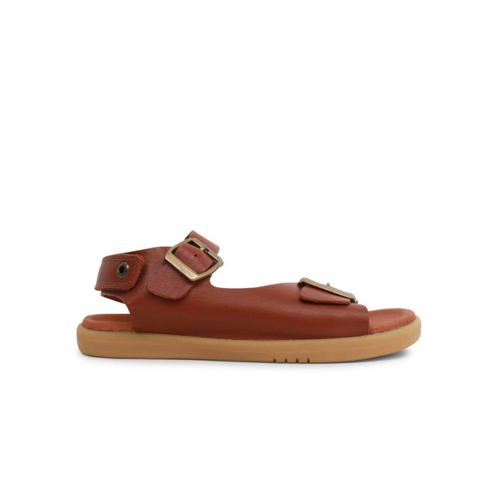 Bobux Kids Bobux Kid Plus Soul Open Sandal Kids Chestnut Bobux KP Soul Open Sandal Chestnut | Sole Mechanics