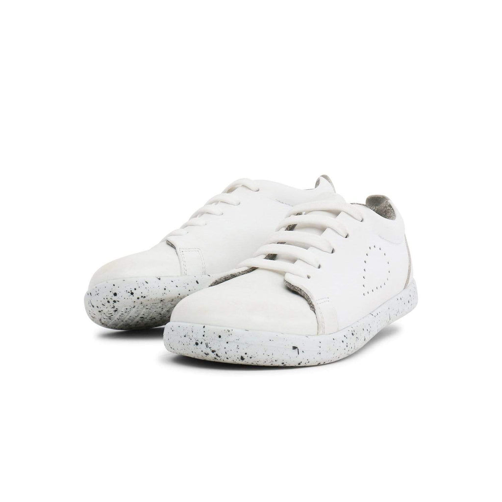 Bobux Kids Bobux Kids Plus Grass Court Casual Shoe Kids White Bobux Kids Plus Grass Court Casual Shoe White | Sole Mechanics