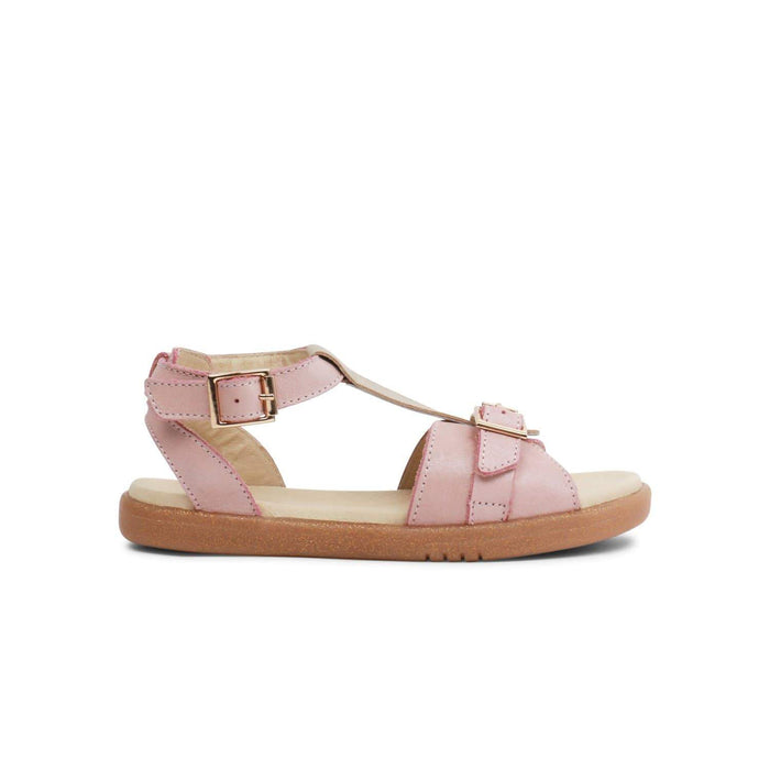 Bobux Kids Bobux Kids Plus Hera Open Sandal Kids Blush Shimmer Bobux Kids Plus Hera Open Sandal Blush Shimmer | Sole Mechanics