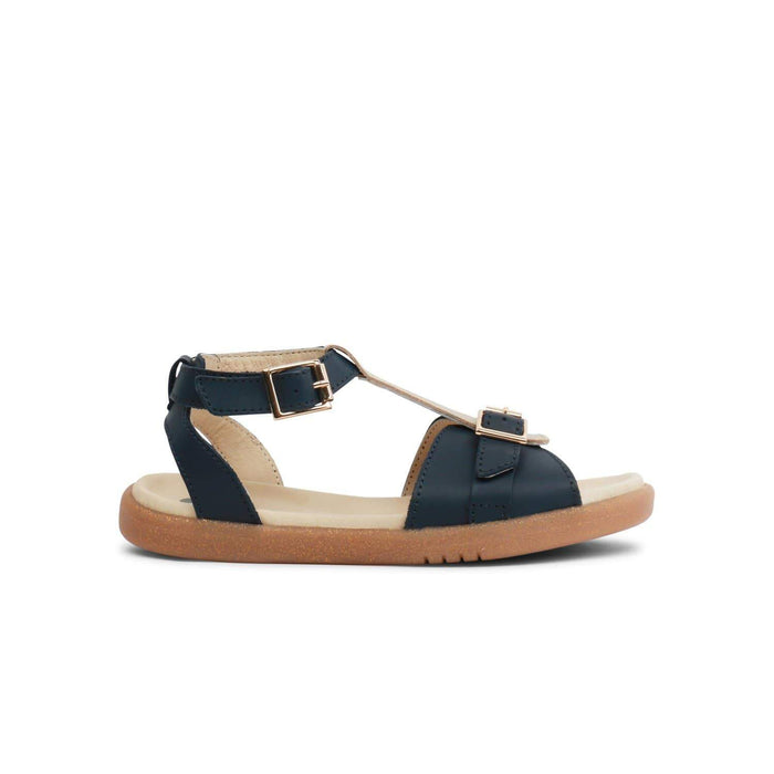 Bobux Kids Bobux Kids Plus Hera Open Sandal Kids Navy + Misty Gold Bobux Kids Plus Hera Open Sandal Navy + Misty Gold | Sole Mechanics