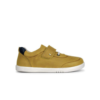 Bobux Kid+ Ryder Trainer Kids Chartreuse + Navy - Sole Mechanics Natural Motion Footwear - Australia & New Zealand
