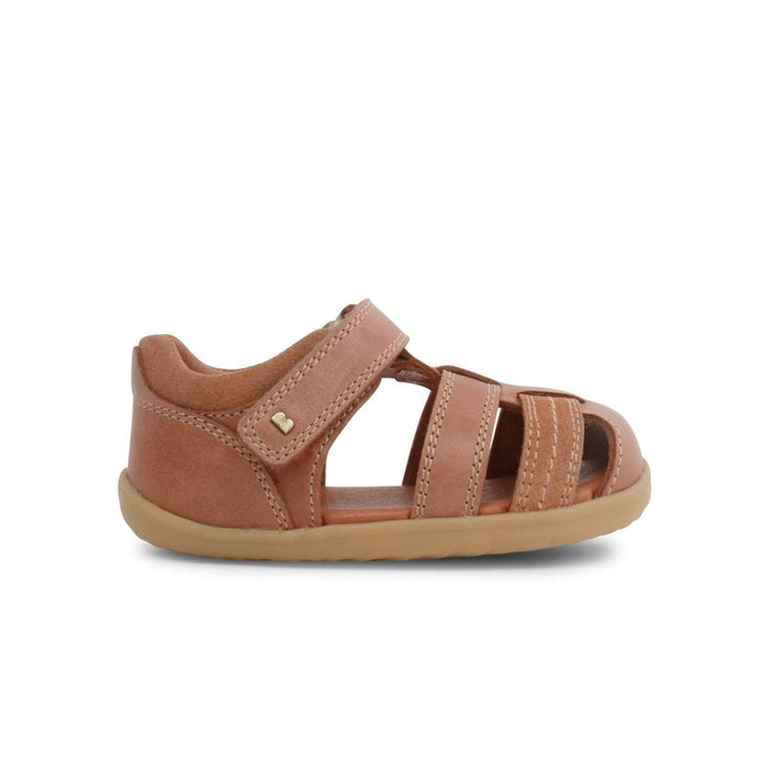 Bobux Kids Bobux Step Up Roam Closed Sandal Kids Caramel Bobux Step Up Roam Closed Sandal Caramel | Sole Mechanics