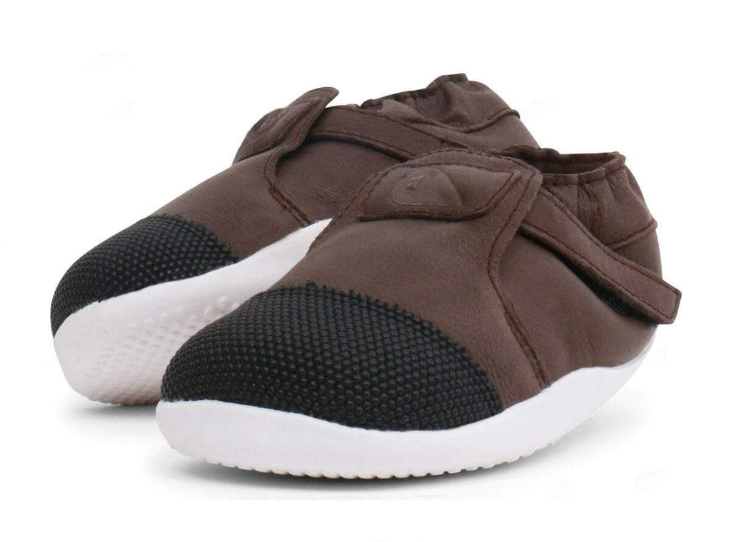 Bobux Step Up Xplorer Kids Origin Mocha - Sole Mechanics Natural Motion Footwear - Australia & New Zealand