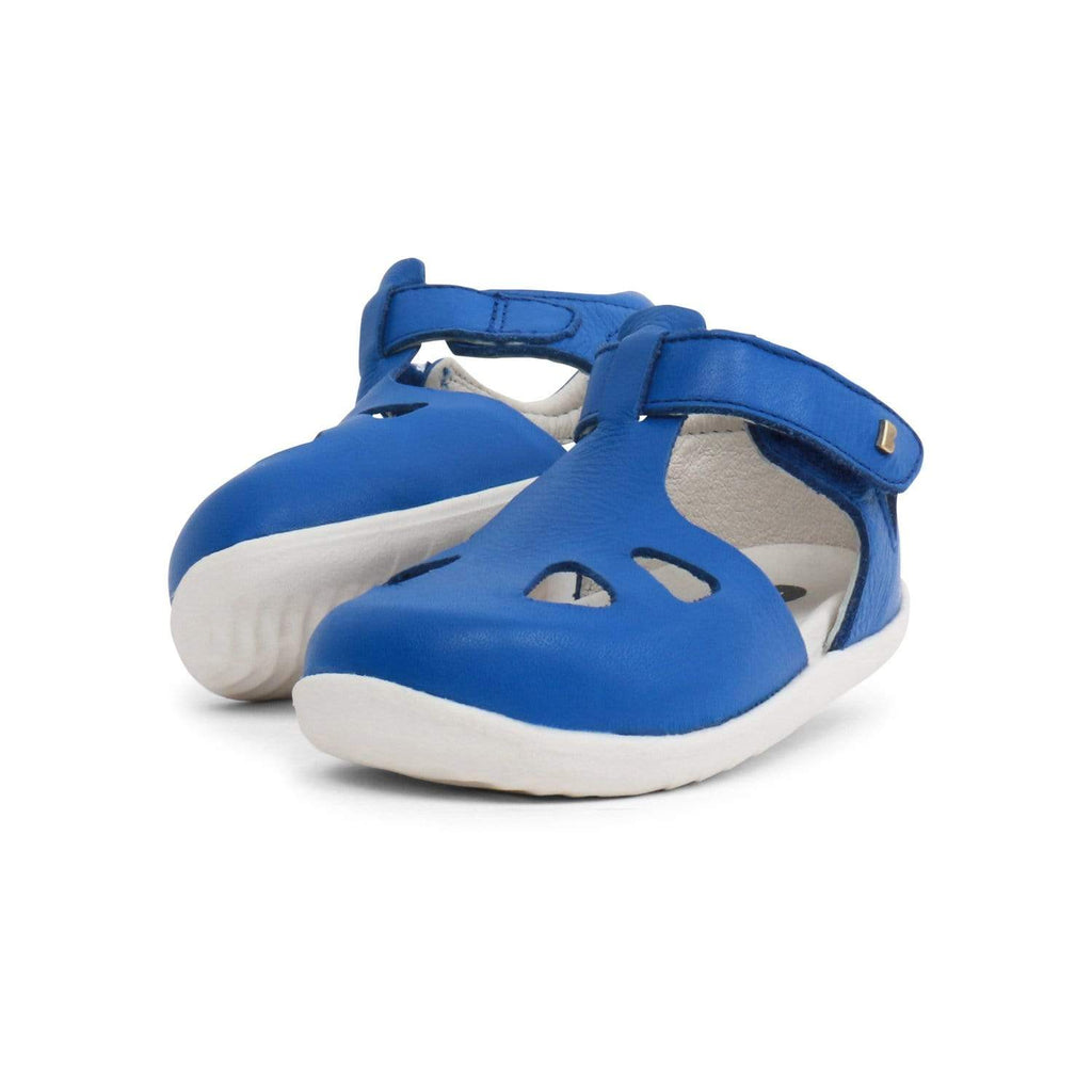 Bobux Kids Bobux Step Up Zap Closed Sandal Kids Sapphire Bobux Step Up Zap Closed Sandal Sapphire Kids | Sole Mechanics
