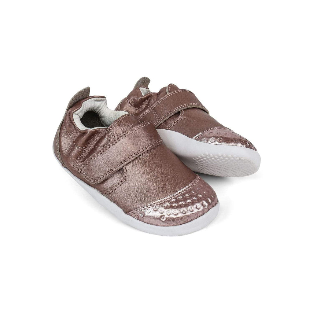 Bobux Kids Bobux XP Go Trainer Kids Rose Gold Bobux XP Go Trainer Kids Rose Gold | Sole Mechanics Online