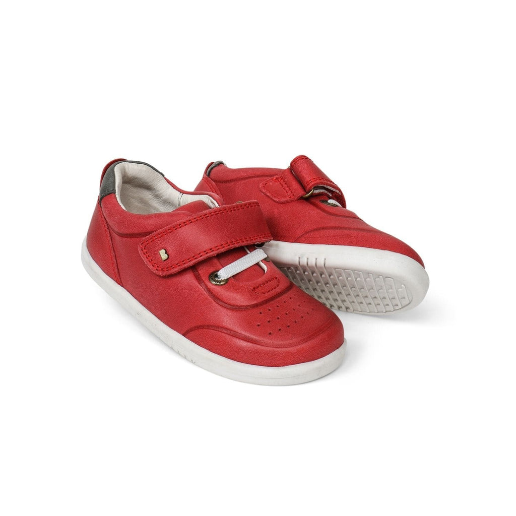 Bobux I-Walk Ryder Kids Red + Charcoal