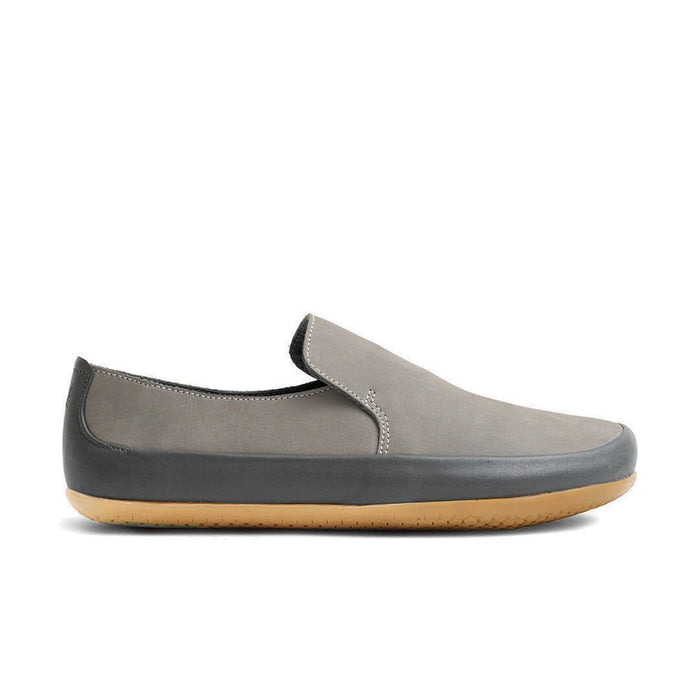 Vivobarefoot Opanka Leather Womens Graphite - Sole Mechanics Natural Motion Footwear - Australia & New Zealand