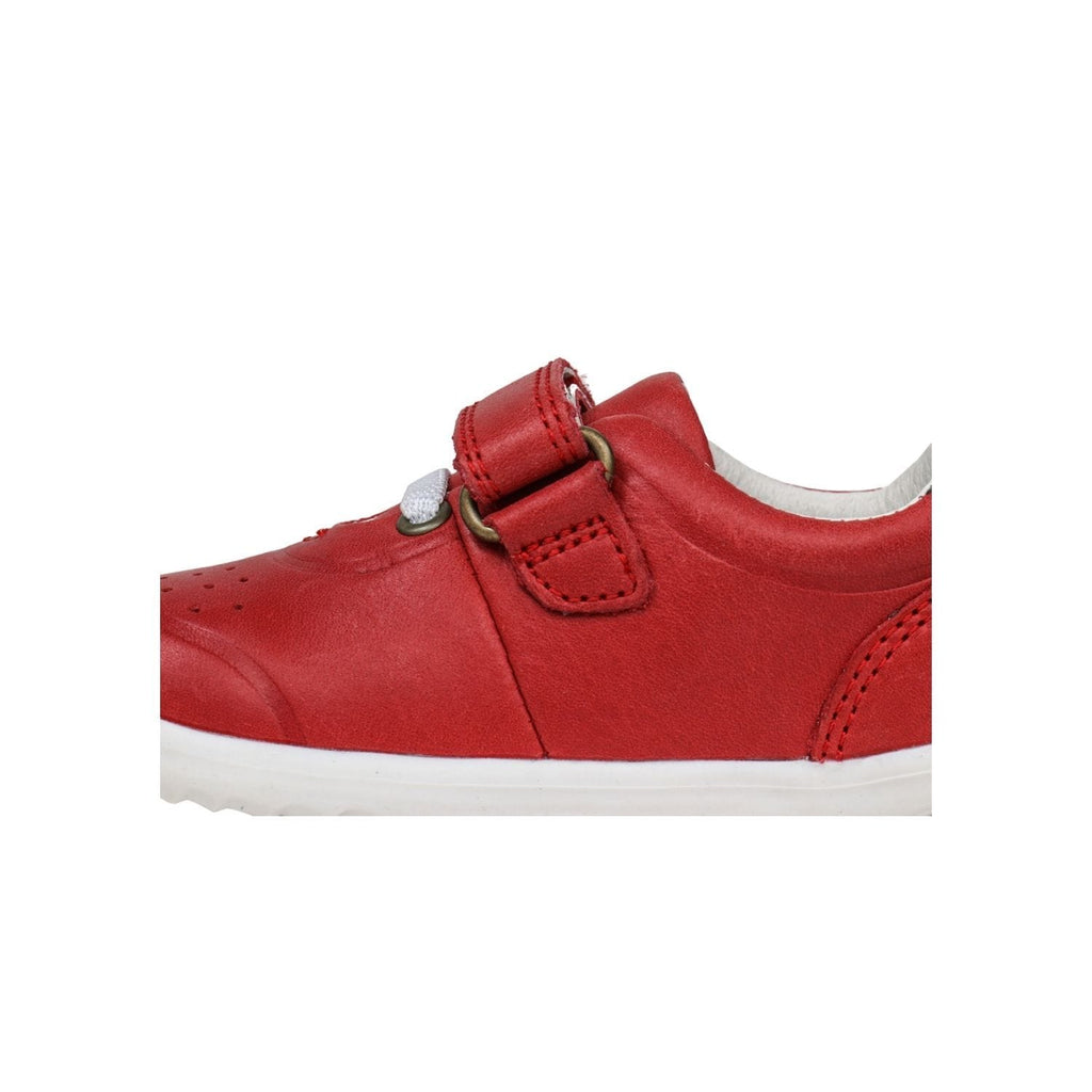 Bobux SU Ryder Kids Red + Charcoal
