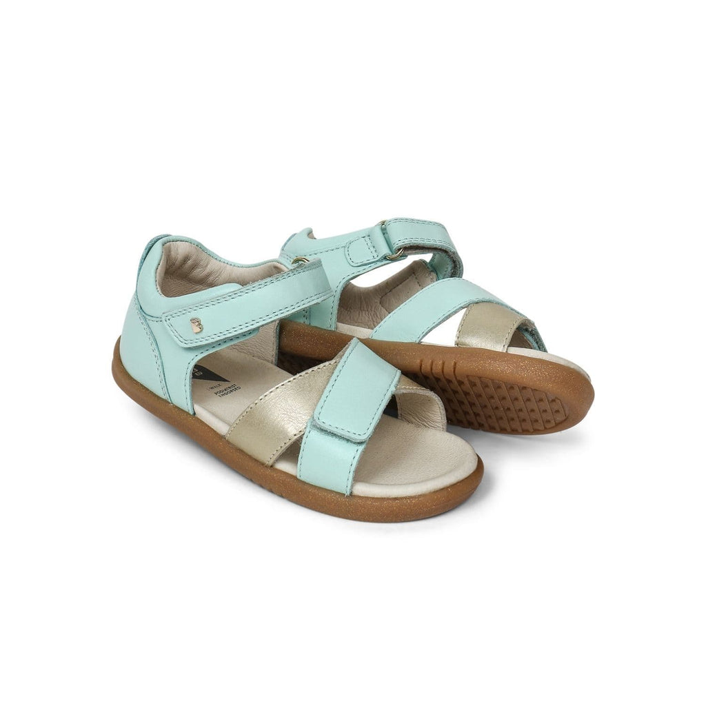 Bobux I-Walk Sail Kids Mint + Gold