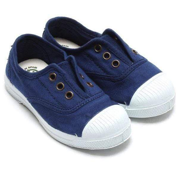 Natural World Kids Natural World Ingles Elastico Kids Azul Natural World Ingles Elastico - Azul | Sole Mechanics Barefoot Shoes