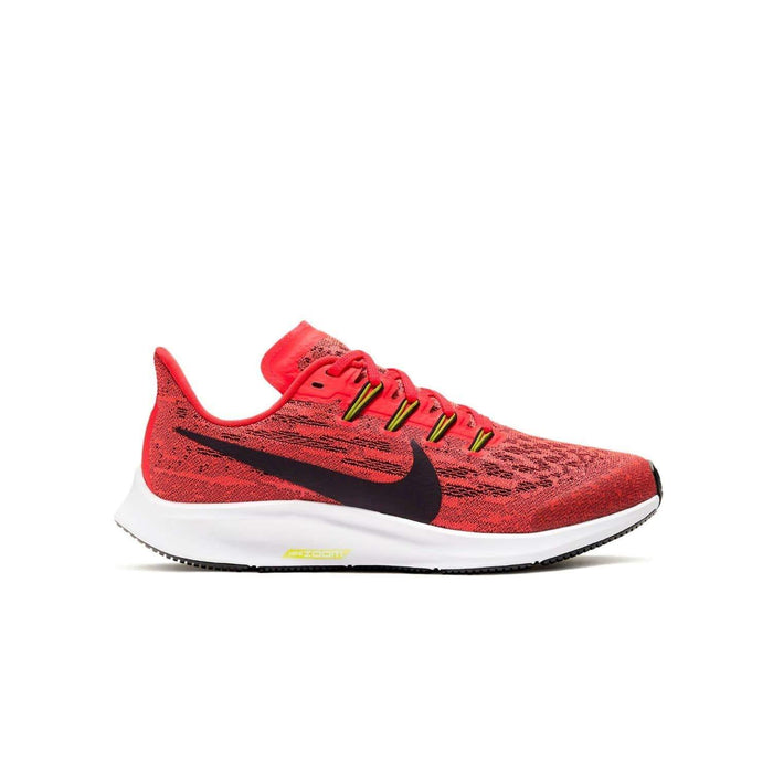 Nike Kids Nike Air Zoom Pegasus 36 (GS) Kids Laser Crimson/Black Bright Cactus White - Right side view