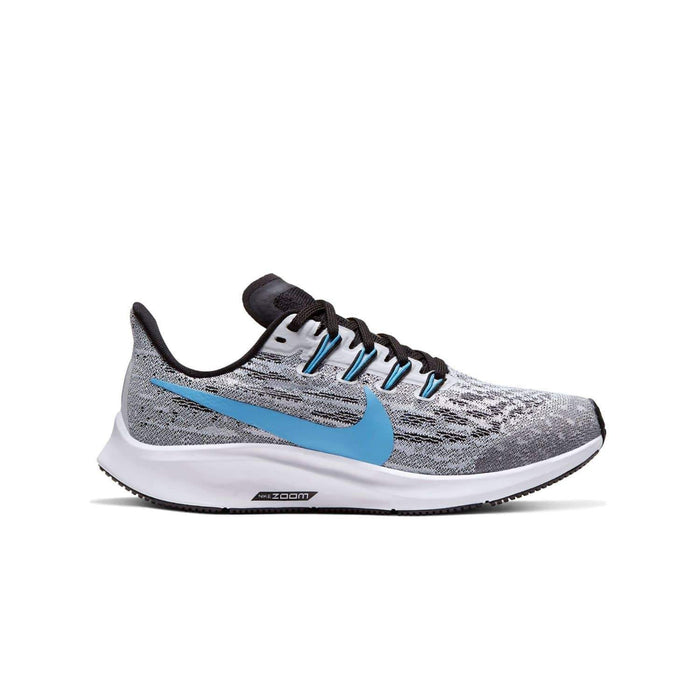 Nike Kids Nike Air Zoom Pegasus 36 (GS) Kids White/University Blue Black - Right side view