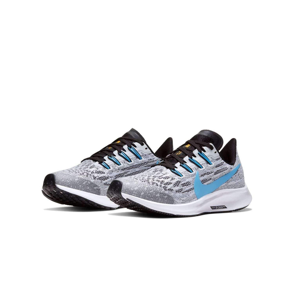 Nike Kids Nike Air Zoom Pegasus 36 (GS) Kids White/University Blue Black - Sole view