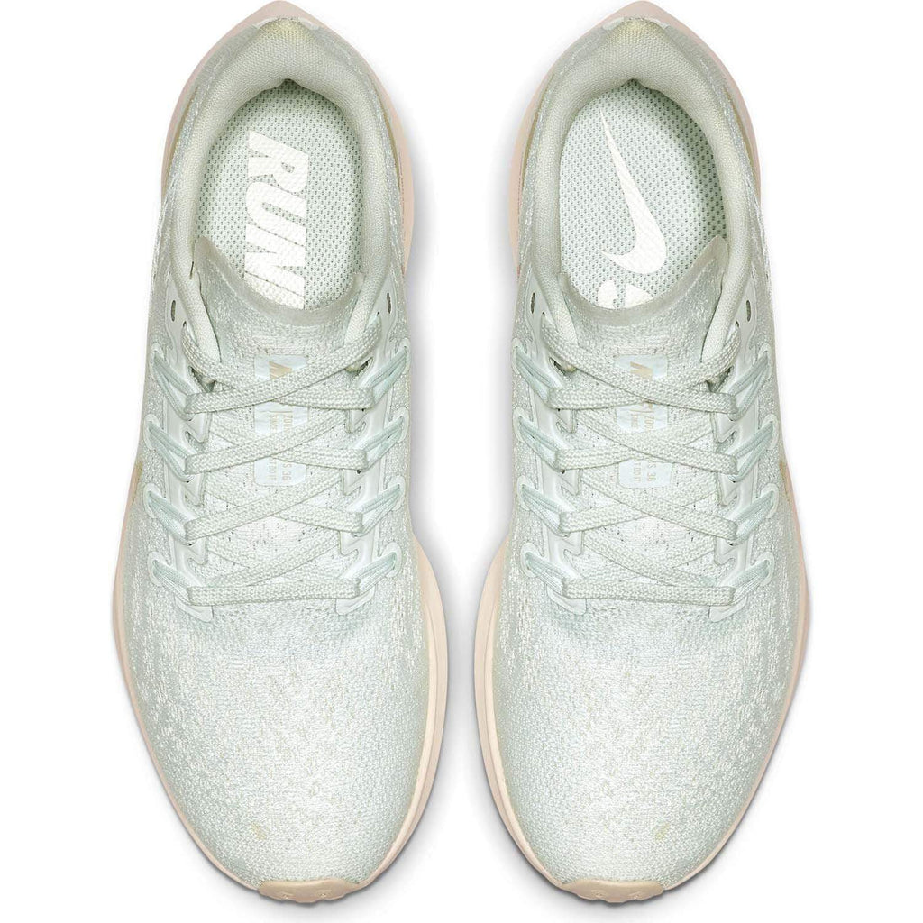 Nike Kids Nike Air Zoom Pegasus 36 Womens Ghost Aqua / Light Cream -Sail - Top view