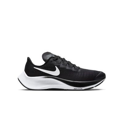 Nike Air Zoom Pegasus 37 GS Kids Black White - Sole Mechanics Natural Motion Footwear - Australia & New Zealand